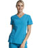 Photograph of Dickies Xtreme Stretch V-Neck Top in Teal