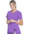 Photograph of Dickies Xtreme Stretch Women's V-Neck Top Purple 82851-PLCS