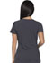 Photograph of Xtreme Stretch Women's V-Neck Top Gray 82851-PWT