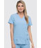 Photograph of Xtreme Stretch Women's V-Neck Top Blue 82851-SKYZ