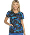 Photograph of Dickies Prints Women's V-Neck Top Dots in Disguise 82859-DTIN