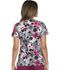 Photograph of Dickies Prints Women's V-Neck Top Floral Camo Collage 82978-FLCC