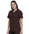 Photograph of Dickies EDS Signature Unisex Tuckable V-Neck Top in Espresso