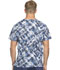 Photograph of Dickies Prints Unisex Unisex V-Neck Top Breaking Plaid Royal 83727C-BGRY