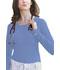 Photograph of Dickies Solids Women\'s Long Sleeve Underscrub Knit Tee Blue 84770-CBLZ