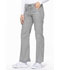 Photograph of EDS Signature Women's Low Rise Drawstring Cargo Pant Gray 85100-GRWZ