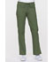 Photograph of EDS Signature Women's Low Rise Drawstring Cargo Pant Green 85100-OLWZ