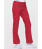 Photograph of EDS Signature Women's Low Rise Drawstring Cargo Pant Red 85100-REWZ