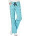 Photograph of Dickies Gen Flex Low Rise Drawstring Cargo Pant in Icy Turquoise