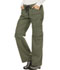 Photograph of Dickies Gen Flex Women's Low Rise Drawstring Cargo Pant Green 857455-OLIZ