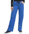 Photograph of Gen Flex Women's Low Rise Drawstring Cargo Pant Blue 857455-RYLZ
