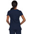 Photograph of EDS Signature Women's Mock Wrap Top Blue 85820-NVWZ