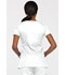 Photograph of EDS Signature Women's Mock Wrap Top White 85820-WHWZ