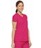 Photograph of Dickies EDS Signature V-Neck Top in Hot Pink