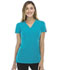 Photograph of Dickies Xtreme Stretch Mock Wrap Top in Teal