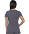 Photograph of Dickies Xtreme Stretch Mock Wrap Top in Light Pewter