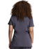 Photograph of Xtreme Stretch Women's Mock Wrap Top Gray 85956-PWT