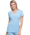 Photograph of Xtreme Stretch Women's Mock Wrap Top Blue 85956-SKYZ