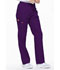 Photograph of Dickies EDS Signature Natural Rise Tapered Leg Pull-On Pant in Eggplant