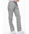 Photograph of Dickies EDS Signature Women's Natural Rise Tapered Leg Pull-On Pant Gray 86106-GRWZ