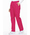 Photograph of EDS Signature Women's Natural Rise Tapered Leg Pull-On Pant Pink 86106-HPKZ
