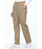 Photograph of Dickies EDS Signature Natural Rise Tapered Leg Pull-On Pant in Dark Khaki