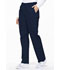 Photograph of EDS Signature Women's Natural Rise Tapered Leg Pull-On Pant Blue 86106-NVWZ