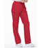 Photograph of Dickies EDS Signature Natural Rise Tapered Leg Pull-On Pant in Red