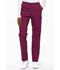 Photograph of EDS Signature Women Natural Rise Tapered Leg Pull-On Pant Red 86106-WIWZ