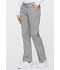 Photograph of EDS Signature Women's Mid Rise Drawstring Cargo Pant Gray 86206-GRWZ