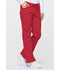 Photograph of Dickies EDS Signature Mid Rise Drawstring Cargo Pant in Red