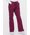 Photograph of Dickies EDS Signature Women's Mid Rise Drawstring Cargo Pant Red 86206-WIWZ