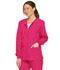Photograph of Dickies EDS Signature Snap Front Warm-Up Jacket in Hot Pink