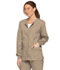 Photograph of EDS Signature Women Snap Front Warm-Up Jacket Khaki 86306-KHIZ