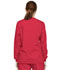 Photograph of Dickies EDS Signature Snap Front Warm-Up Jacket in Red