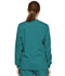 Photograph of Dickies EDS Signature Snap Front Warm-Up Jacket in Teal Blue