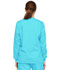 Photograph of Dickies EDS Signature Snap Front Warm-Up Jacket in Turquoise