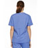 Photograph of EDS Signature Women's V-Neck Top Blue 86706-CIWZ