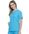 Photograph of EDS Signature Women's V-Neck Top Blue 86706-OTBL