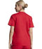 Photograph of EDS Signature Women's V-Neck Top Red 86706-REWZ