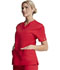 Photograph of EDS Signature Women V-Neck Top Red 86706-REWZ
