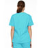 Photograph of Dickies EDS Signature Women's V-Neck Top Blue 86706-TQWZ