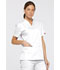 Photograph of Dickies EDS Signature Women's V-Neck Top White 86706-WHWZ