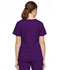 Photograph of Dickies EDS Signature Mock Wrap Top in Eggplant