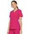 Photograph of EDS Signature Women Mock Wrap Top Pink 86806-HPKZ