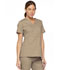 Photograph of Dickies EDS Signature Women's Mock Wrap Top Khaki 86806-KHIZ