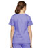 Photograph of Dickies EDS Signature Mock Wrap Top in Lavender Freesia