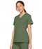 Photograph of Dickies EDS Signature Women's Mock Wrap Top Green 86806-OLWZ