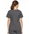 Photograph of Dickies EDS Signature Mock Wrap Top in Pewter