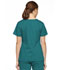 Photograph of Dickies EDS Signature Mock Wrap Top in Teal Blue